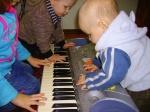 Les enfants glorifient le Seigneur