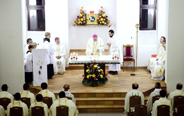 La célébration de la messe